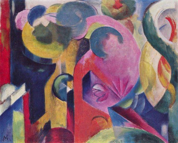 Colourful Franz Marc Abstract Art Prints AU
