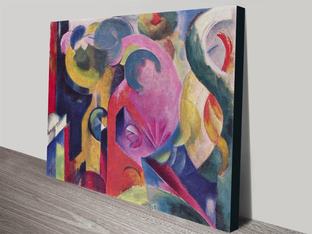 Composition lll Franz Marc Canvas Art