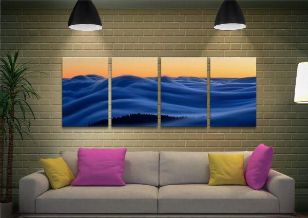 Dreamscape Split Panel Art Unique Gifts AU