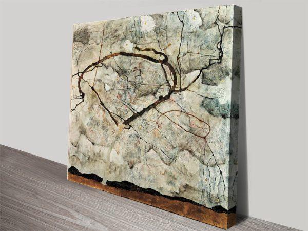 Winter Tree Abstract Art Gallery Sale Online