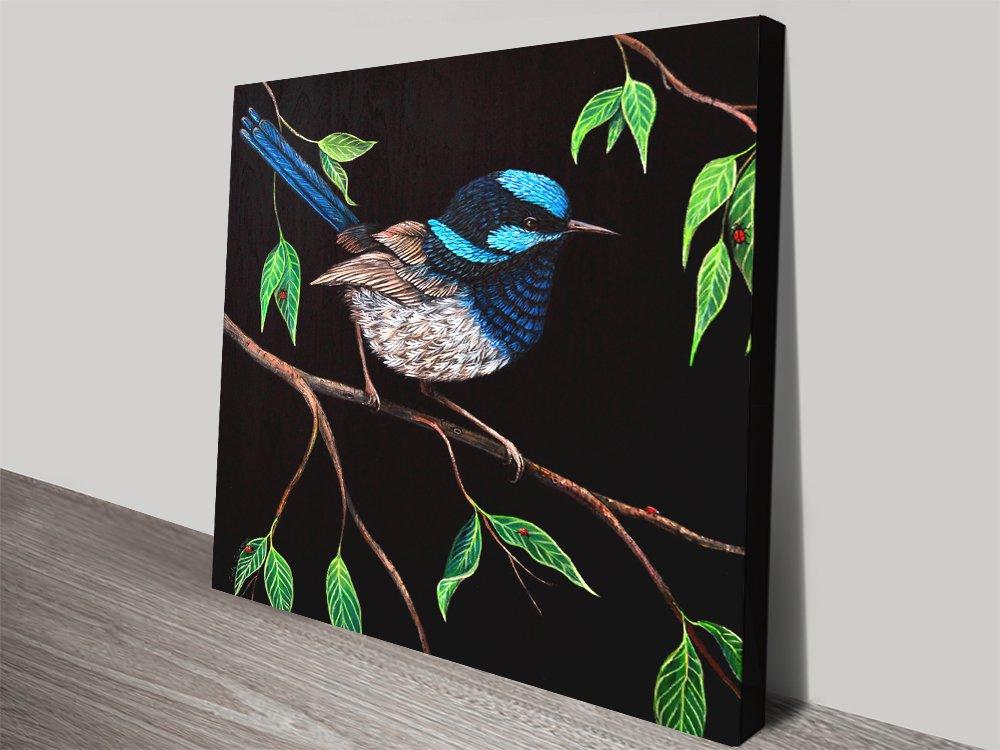 Fairy Wren Wall Art Amazing Gift Ideas AU