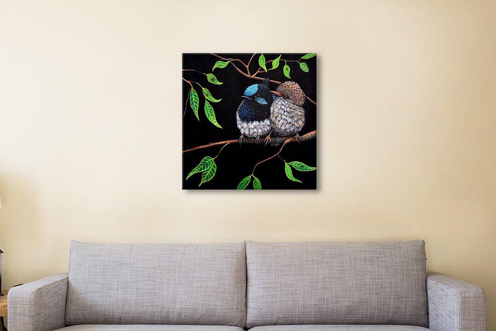Fairy Wren Couples Artwork Great Gift Ideas
