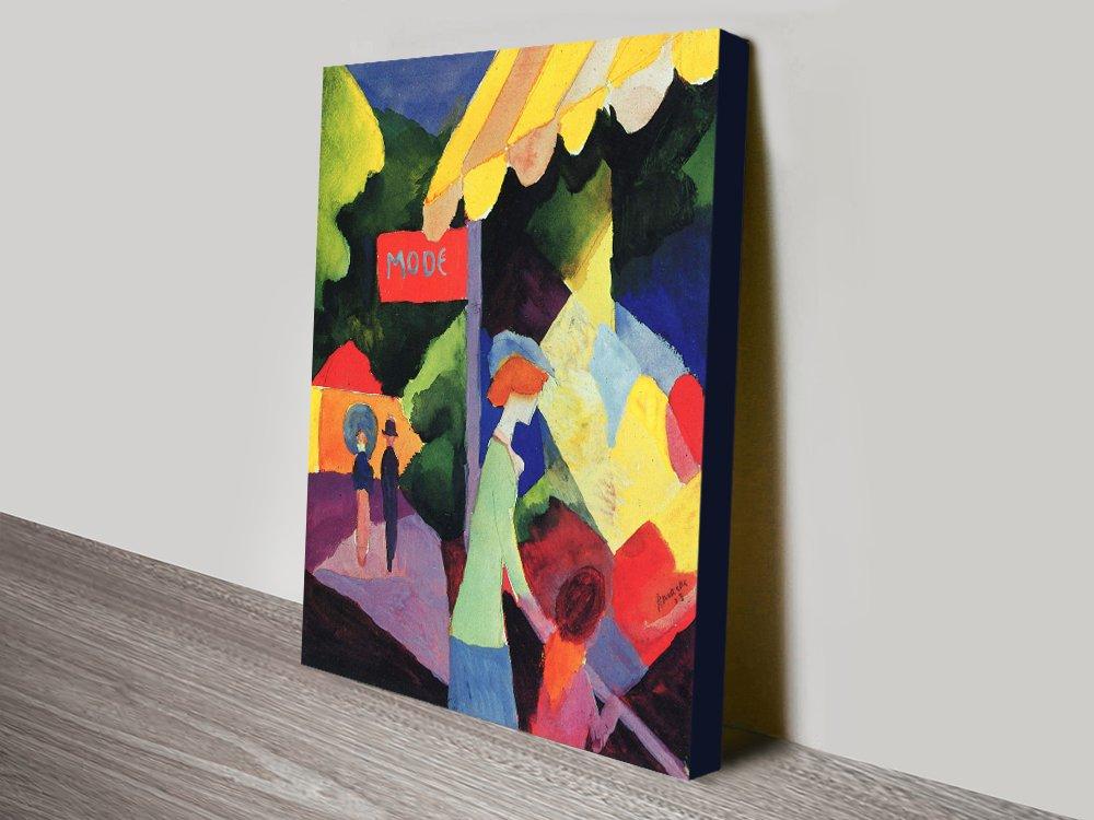 Get August Macke Quality Art Prints Online