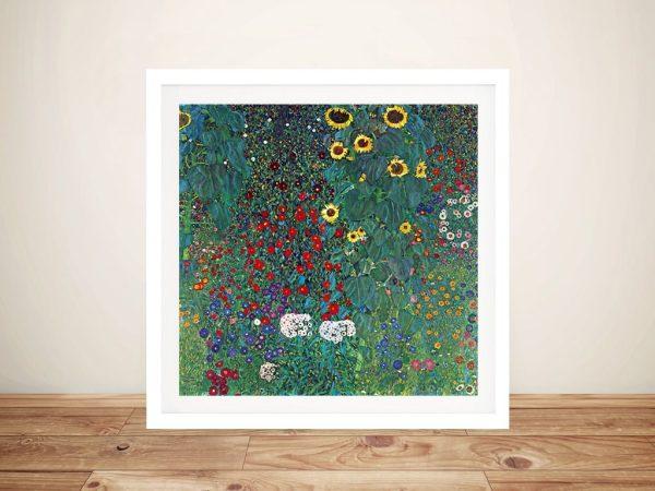 Framed Classic Art Prints by Gustav Klimt