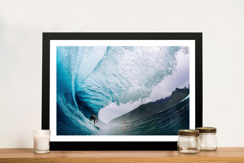 Framed Daniel Russo Surf Prints on Canvas AU