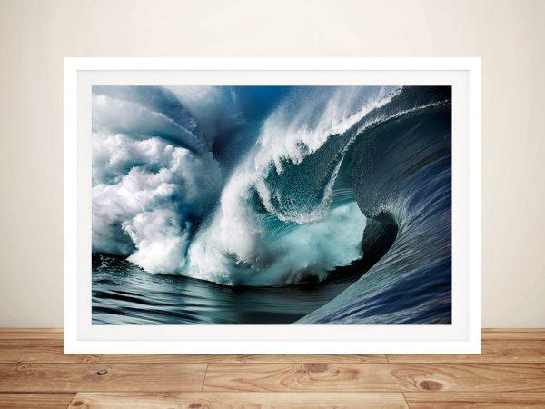Teahupo'o 4 Crashing Waves Canvas Print