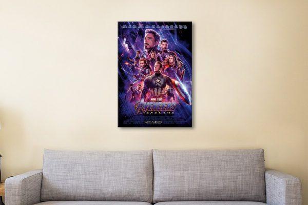 Avengers Endgame Poster Gift Ideas for Kids