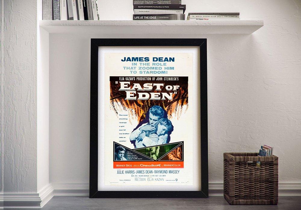 East of Eden Framed Poster Great Gift Ideas AU