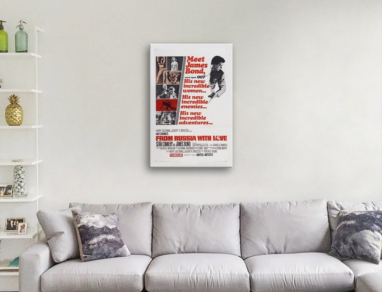 Sean Connery 007 Film Poster Home Decor AU