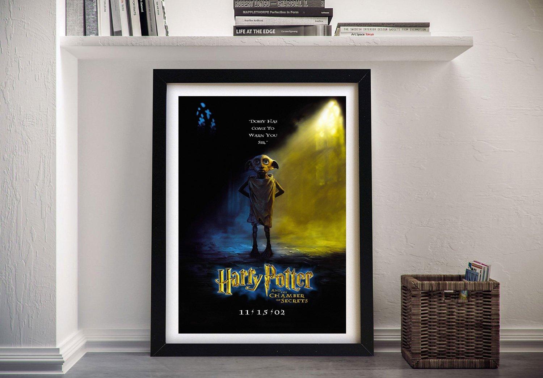 Chamber of Secrets Framed Harry Potter Poster