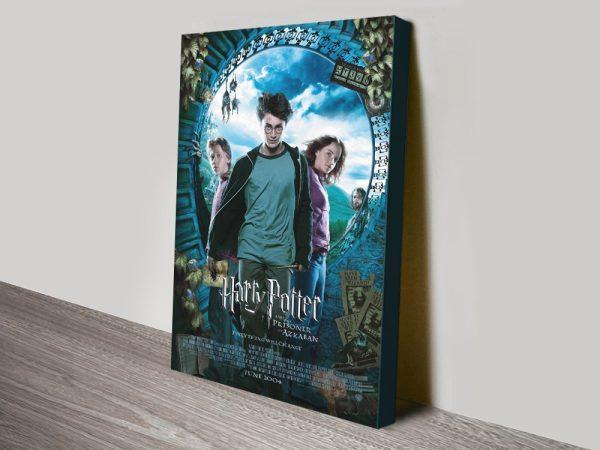 The Prisoner of Azkaban Movie Poster on Canvas