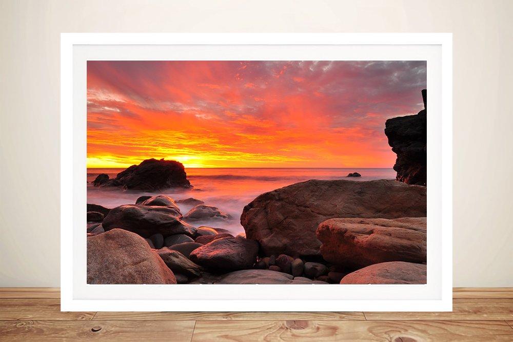 Framed Print of Shepards Delight Seascape