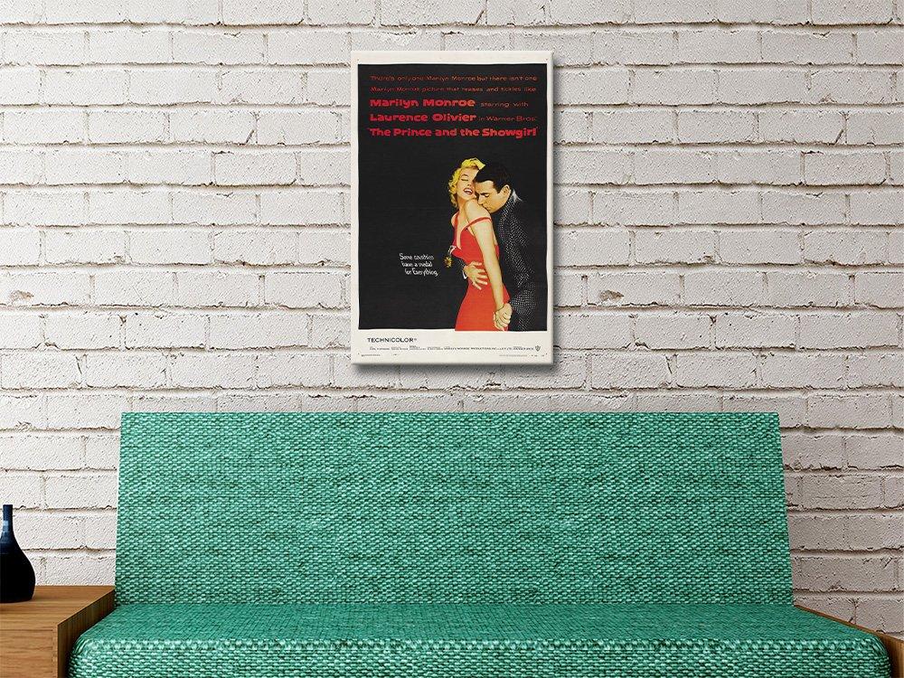 Marilyn Monroe Movie Poster Home Decor AU