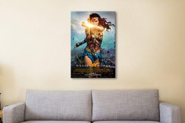 Wonder Woman Affordable Film Poster