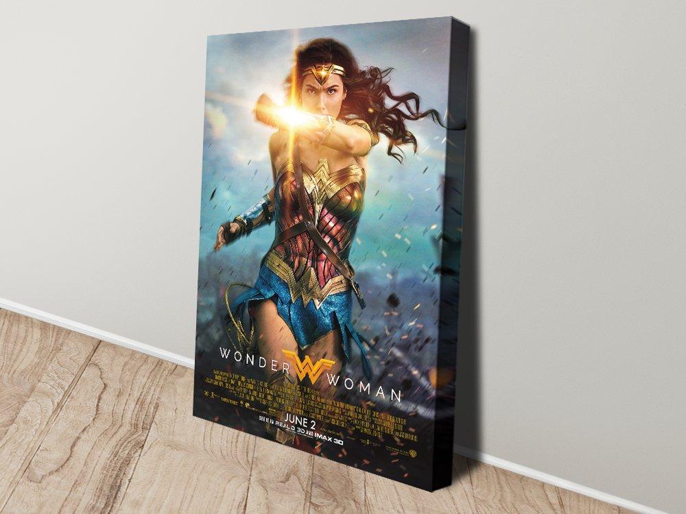 Wonder Woman Wall Art Unique Gift Ideas AU