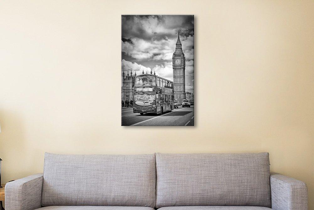 London Monochrome Cityscape Wall Art Online