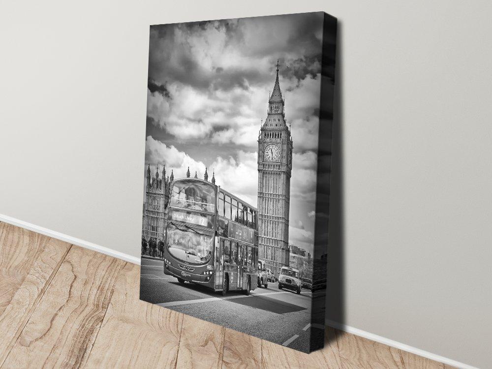 London Westminster Black & White Art AU