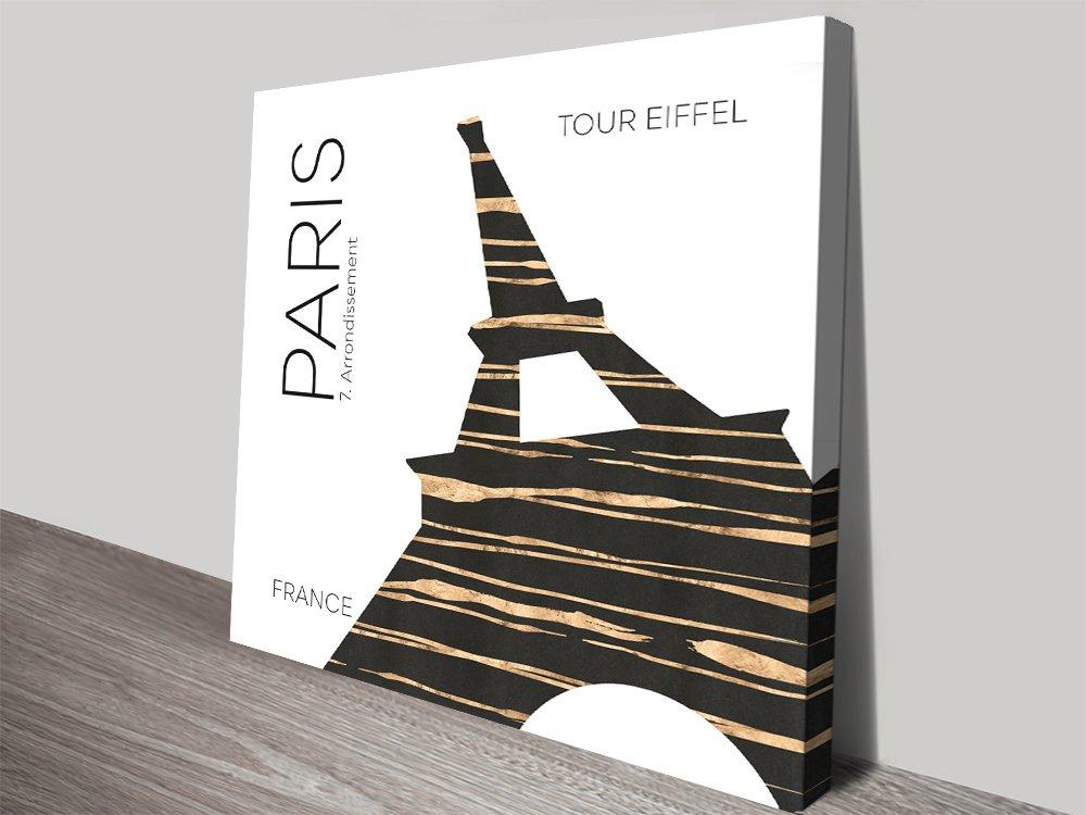 Eiffel Tower Wall Art by Melanie Viola Online