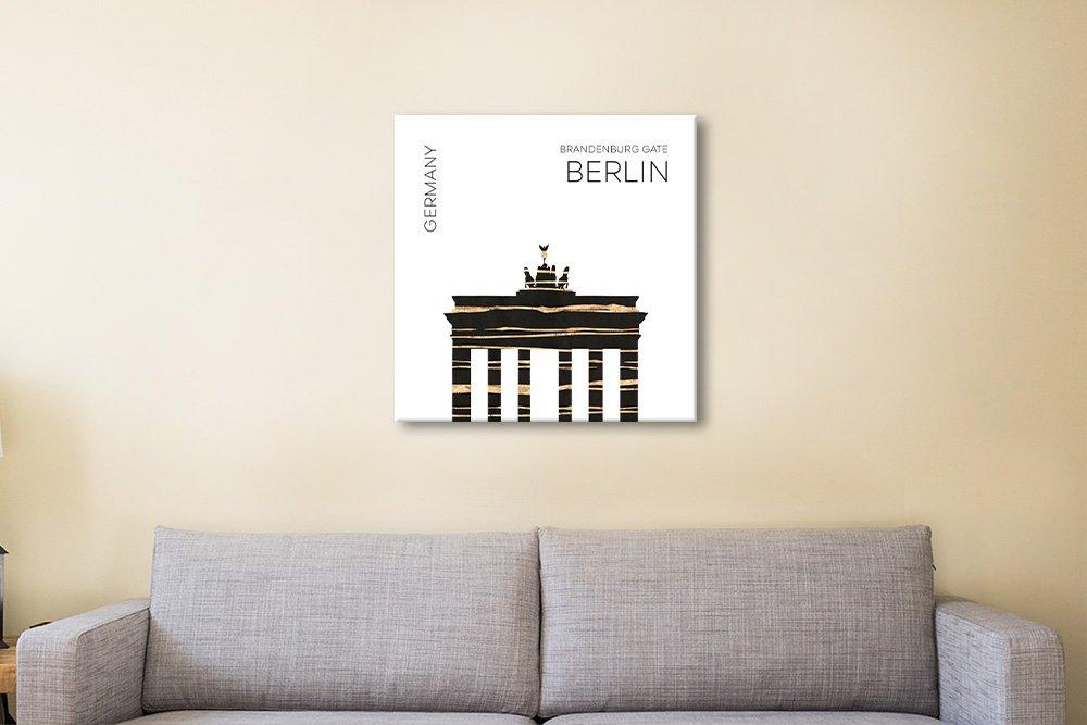 Brandenburg Gate Melanie Viola Canvas Art