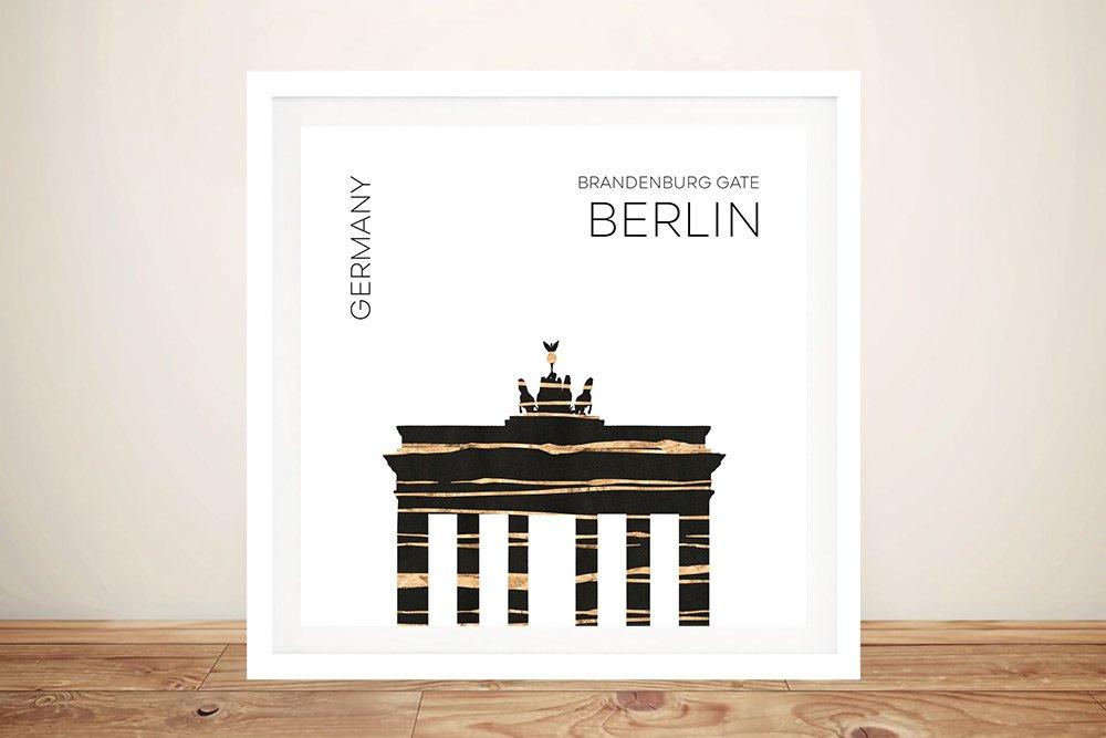Framed Digital World Cities Art Prints Online