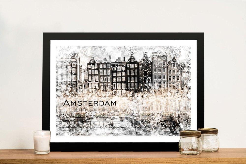 Framed Premium Cityscapes Gift Ideas AU