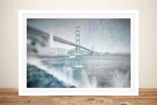 Framed Print of the Golden Gate Bridge for Sale