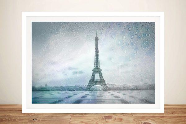 Buy Eiffel Tower Rainy Day Framed Wall Art