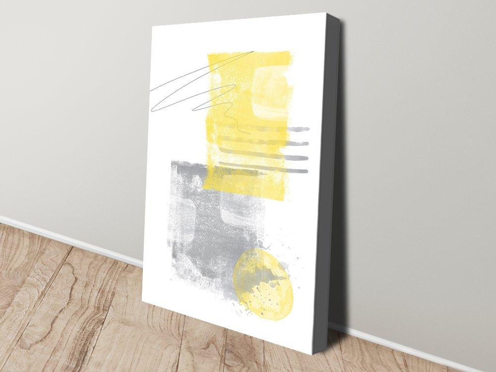 Watercolour Shapes No. 5 Abstract Art Print