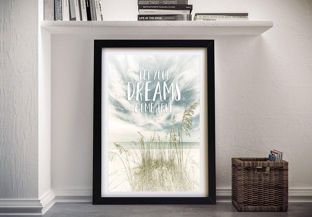 Framed Ocean View Photographic Art Print