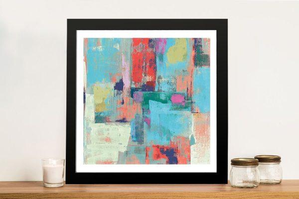 Framed Abstract Silvia Vassileva Wall Art AU