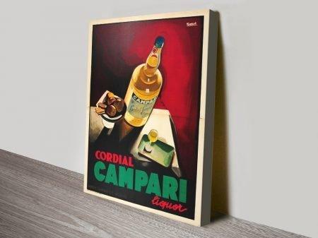 Cordial Campari Nizzoli Vintage Poster Artwork