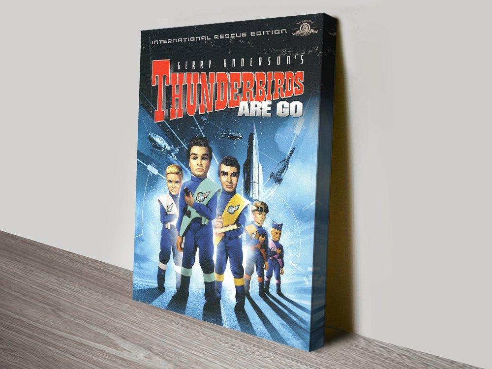 Thunderbirds are Go DVD Release Poster