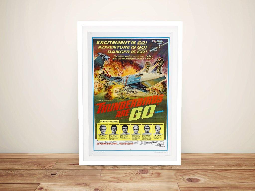 Thunderbirds are Go 1966 Vintage Film Poster