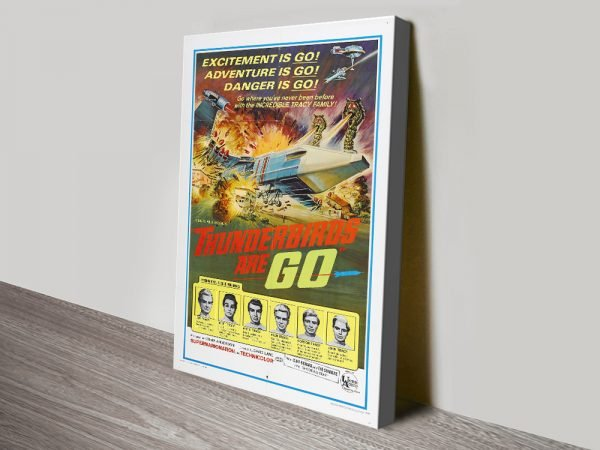 Thunderbirds are Go Ready to Hang Poster