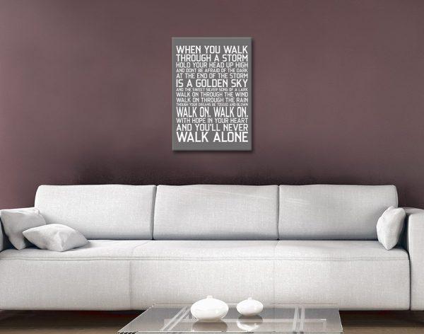 Bespoke Liverpool FC Wall Art Gift Ideas AU