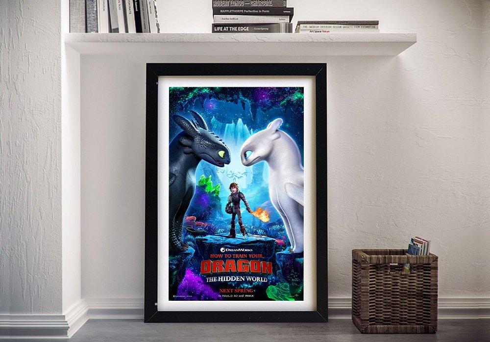 The Hidden World Movie Poster Print