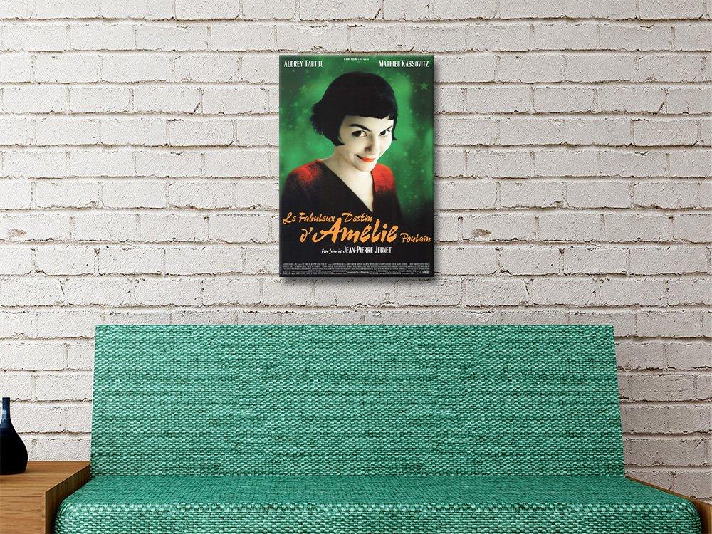 Gorgeous Amélie Movie Poster Unique Home Decor