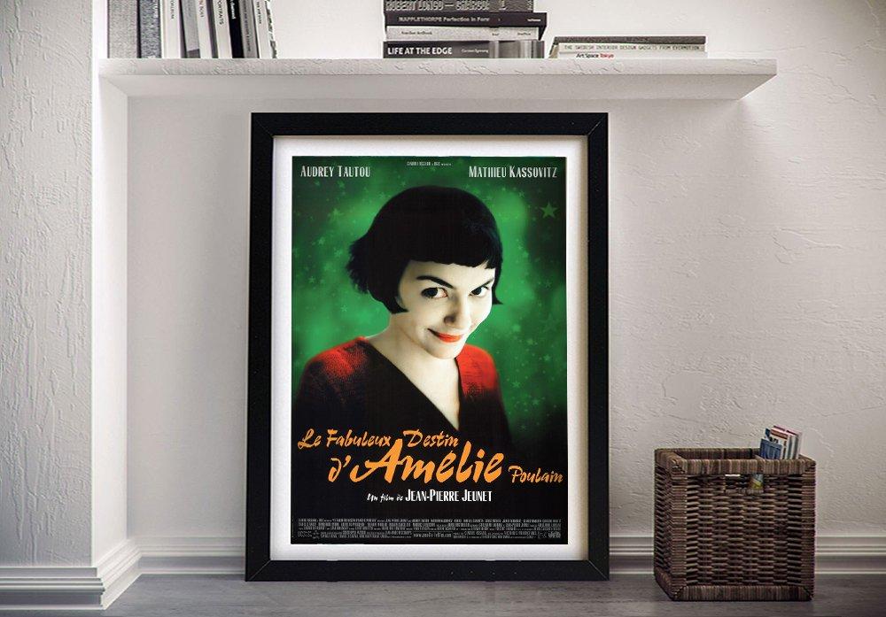 Buy an Amélie Canvas Film Poster Print