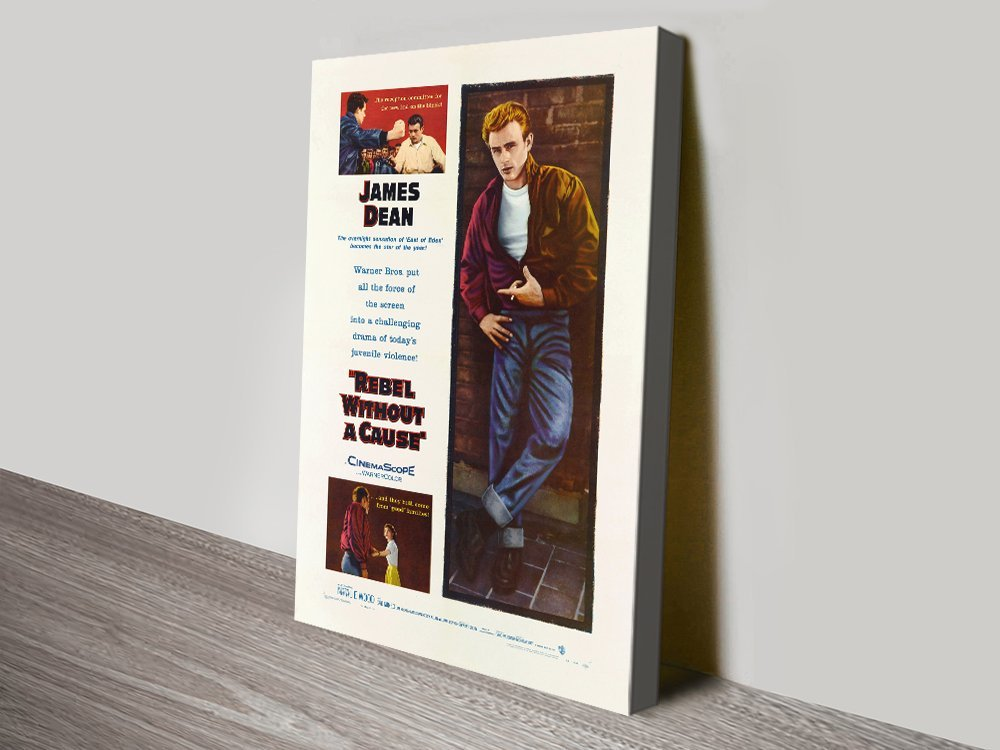 Rebel Without a Cause Movie Poster Print