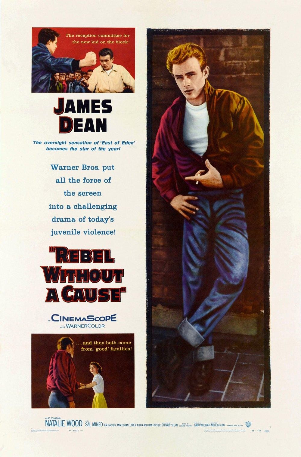 James Dean Movie Posters on Canvas AU