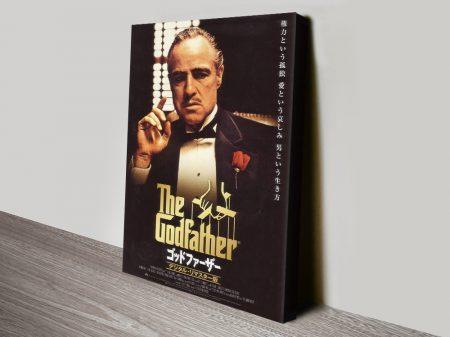 Japanese Godfather Movie Poster Canvas Art