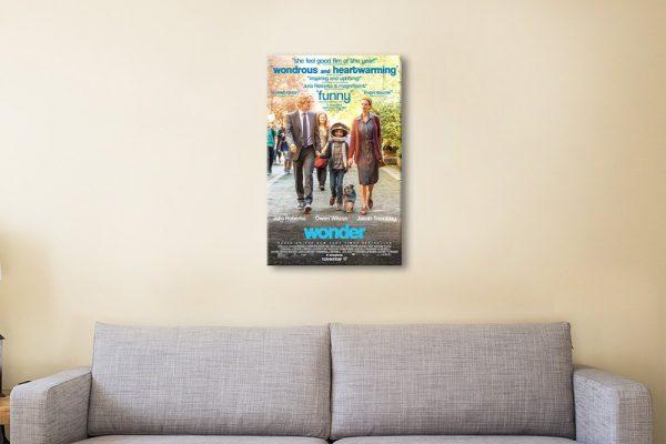 wonder movie poster Artwork