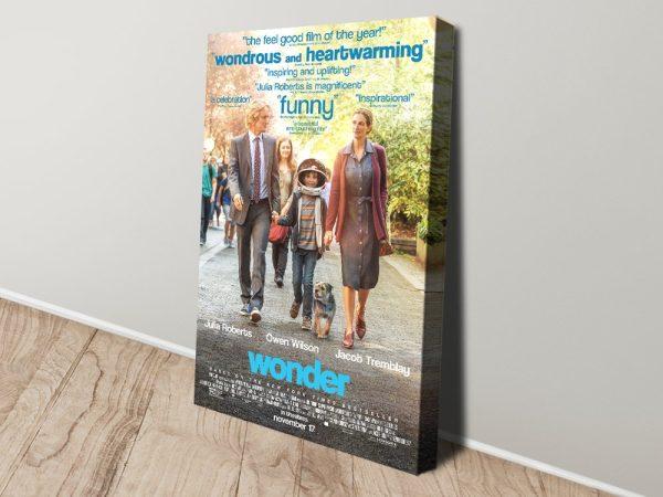 Wonder Movie Poster Print