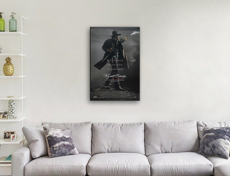 Kevin Costner Wyatt Earp Poster on Canvas