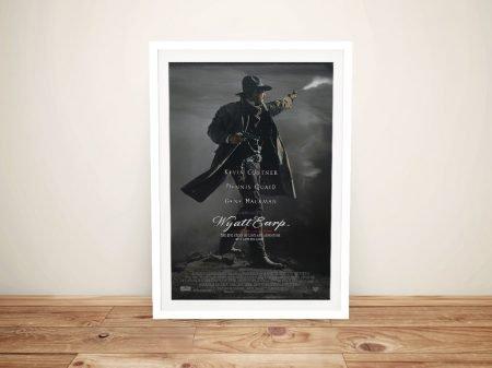 Buy a Framed Wyatt Earp Movie Poster Print
