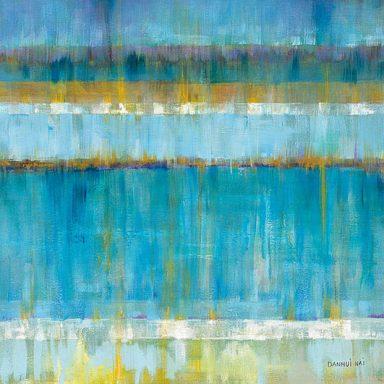 Abstract Stripes Danhui Nai Wall Art Print