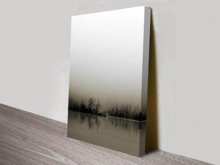the still lake custom best online wall art