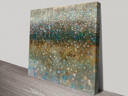Danhui Nai Abstract Rain canvas print