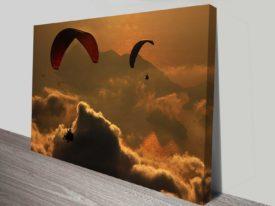 sky gliding at dusk beautiful custom photo to print