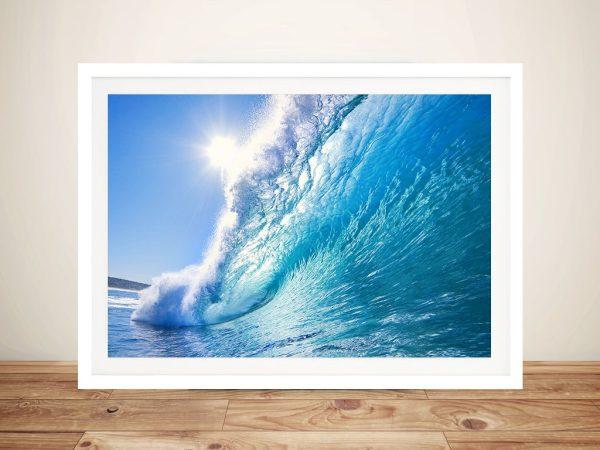 Surf Haze Framed Wall Art